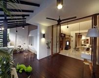 新加坡山边别墅设计