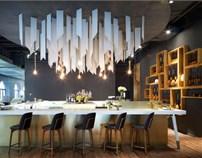 贰千金餐厅设计
