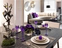 摩登紫着——奢华空间设计