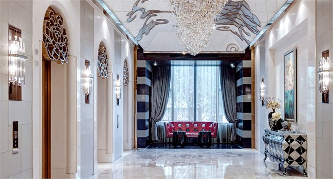 上海星河湾花园酒店设计