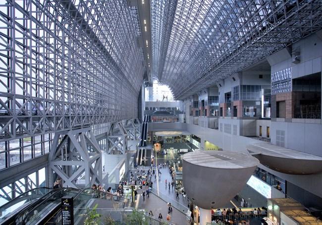 日本建筑旅行 京都车站、直岛码头 设计腕儿【腕儿视角】