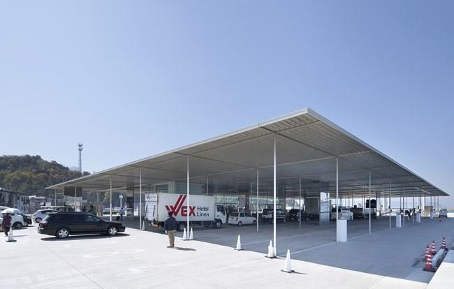 建筑摄影:夏至 京都火车站 设计:原广司 设计:妹岛和世