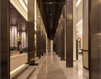 广东珠海时代倾城售楼部及会所设计