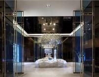 金地国际公寓售楼中心设计