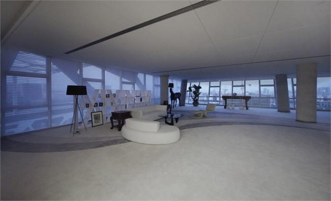 设计公司办公空间,阿里巴巴集团总部ceo办公室