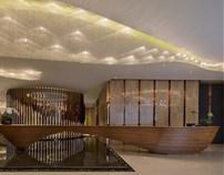 上海南桥绿地无双售楼处设计