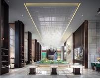 集艾:佛山绿地中心售楼处设计