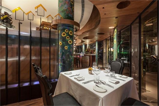 上海花园西餐厅设计
