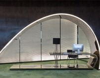 虹橋世界中心辦公樓樣板房設計