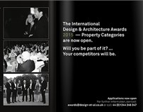 ID&A大奖伦敦开奖倒计时,DCDA邀您共享荣耀!