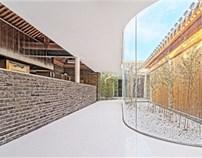 胡同茶舍——曲廊院设计