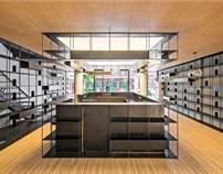荣宝斋咖啡书屋设计