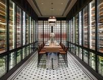 成都瑞吉酒店秀餐厅和品酒阁设计