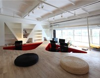 塔然塔丨红坊red town office设计