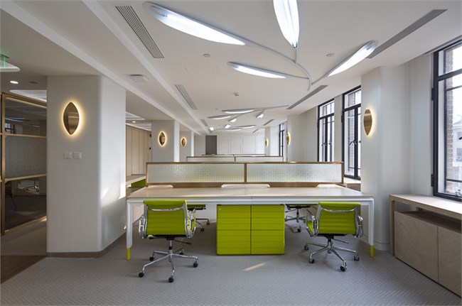 明合文吉丨维真上海办公室设计