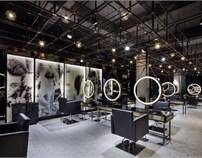 孙黎明:无锡时尚造型店设计