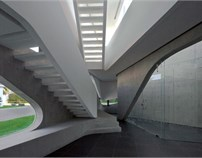 墨西哥涡旋别墅/villa Vortex