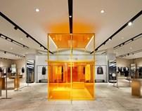 立品设计:HP成都店店面形象与橱窗设计
