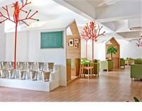 甘蓝系列连锁咖啡店设计之东信大道店——林中来一杯咖啡可好