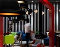 绯蜜咖啡轻食馆设计