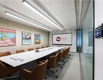 """杰恩设计 办公空间设计作品——""""享尚班""""高端会议空间"""
