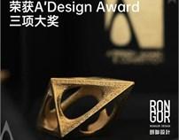 "RONGOR资讯   朗联设计再次斩获""欧洲设计界奥斯卡""A'DESIGN AWARD三项大奖"
